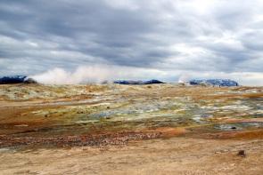 Hverir - hot area of Iceland