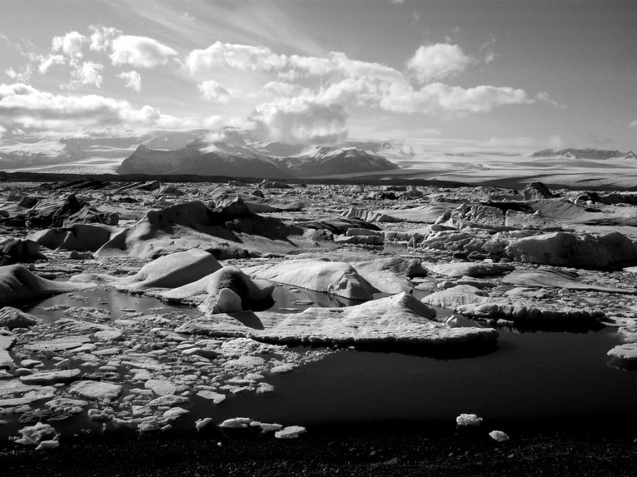 """Glacial lagoon"", Iceland"