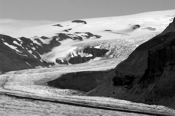 Beautiful Skaftafell glacier in Iceland