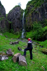 Gudrun and the Waterfall